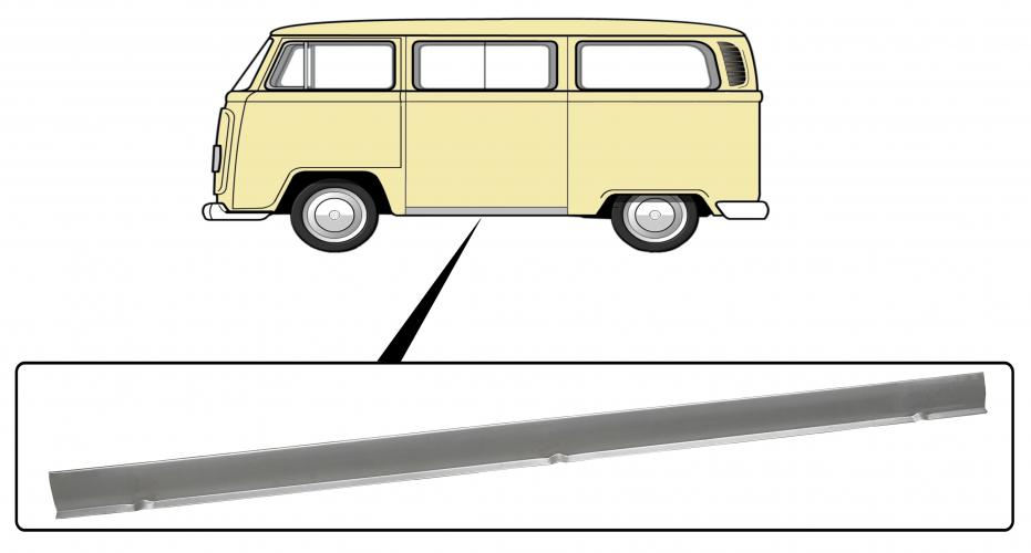 Prah vnější OE/L - Typ 2 (1967 » 79)