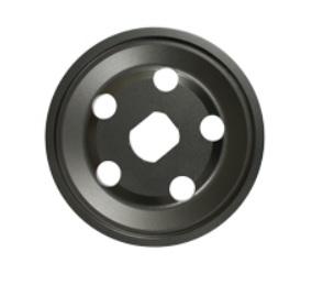 Řemenice Alu černá 1/2 alt/gen - Typ 1 motor (1960 »)