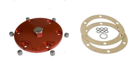 Víko motoru/červené Alu/výpust oleje - Typ 1/3/CT/CZ motory (1960 »)