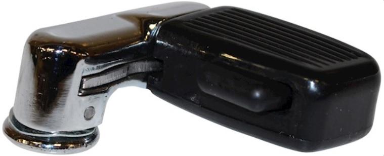 Klička ventilace/chrom L - VW Golf Cabrio/Golf/Jetta/Scirocco (1974 » 93)