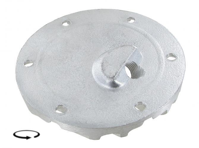 Víko motoru Alu/výpust oleje/čidlo - Typ 1/3/CT/CZ motory (1960 » 03)