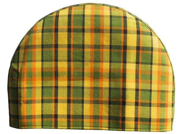 Kryt rezervního kola žlutý/zelená/červená kostka - Typ 2 Westfalia (1967 » 79)