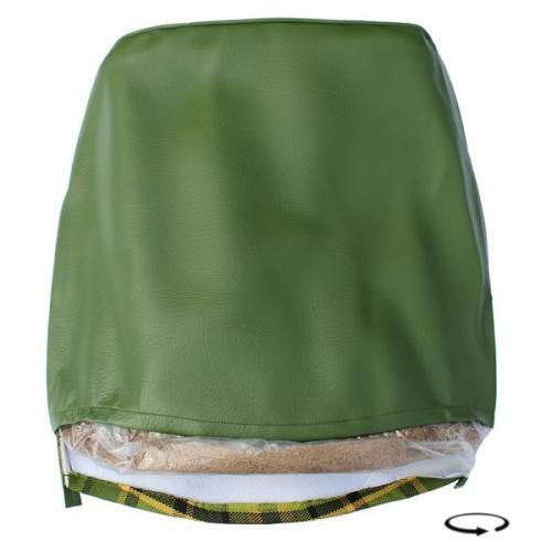 Potah sedadla zelený/žlutá kostka - Typ 2 Westfalia (1974 » 79)