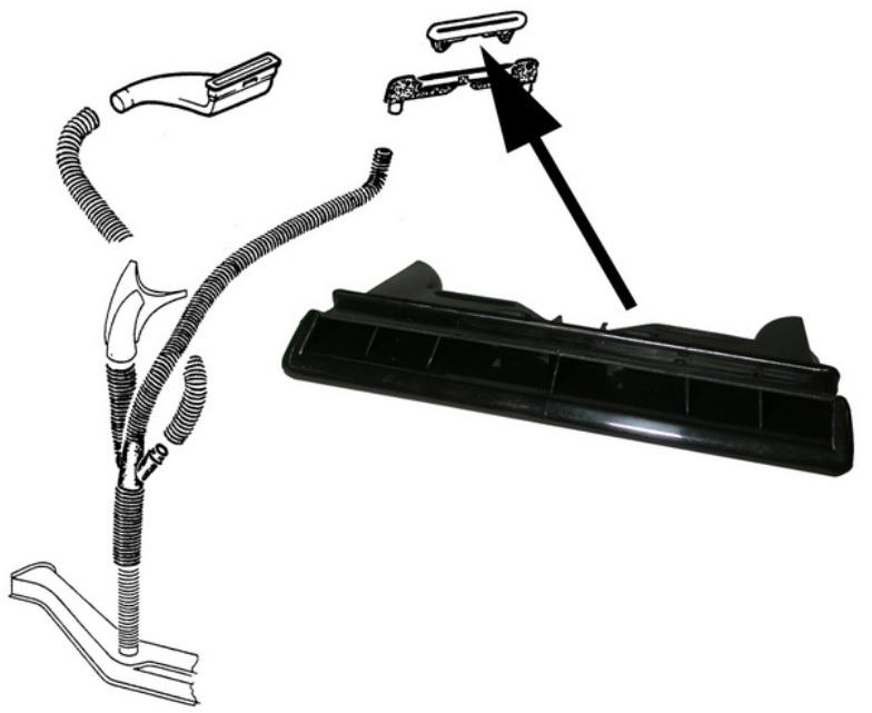 Mřížka palubní desky/ventilace středová - Typ 1 (1967 » 85)