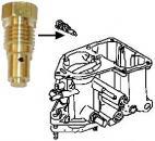 Tryska volnoběhu (55) Solex/Brosol - Typ 1 motor (1967 »)