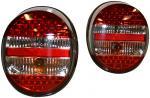 Světla zadní LED červená/čirá/červená - Typ 1/181 US (1972 » 03)