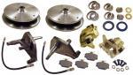 Kotoučové brzdy Sport 5x205mm přední/kit - Typ 1/14/181 (1965 »)