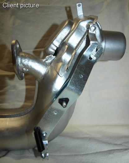 Páka klapky topení výměníku tepla/L - Typ 1/2/14/181 (1963 »)