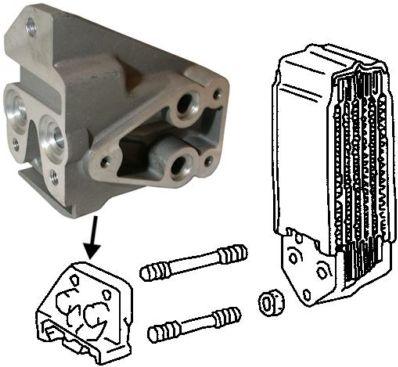 Příruba chladiče oleje/Std - Typ 1 motor (1970 » 03)