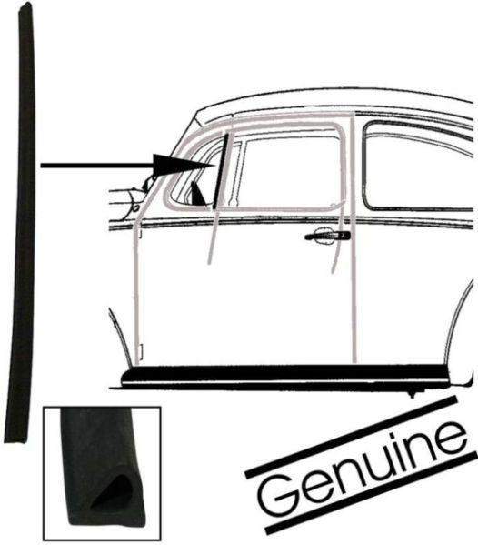 Těsnění/příčky skla ventilace - Typ 1/2/3 (1964 »)