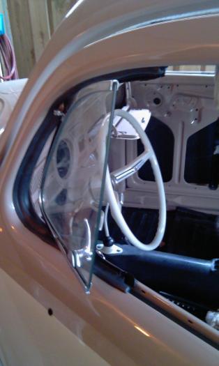 Těsnění křídel ventilace L/P - Typ 1 (1952 » 64)