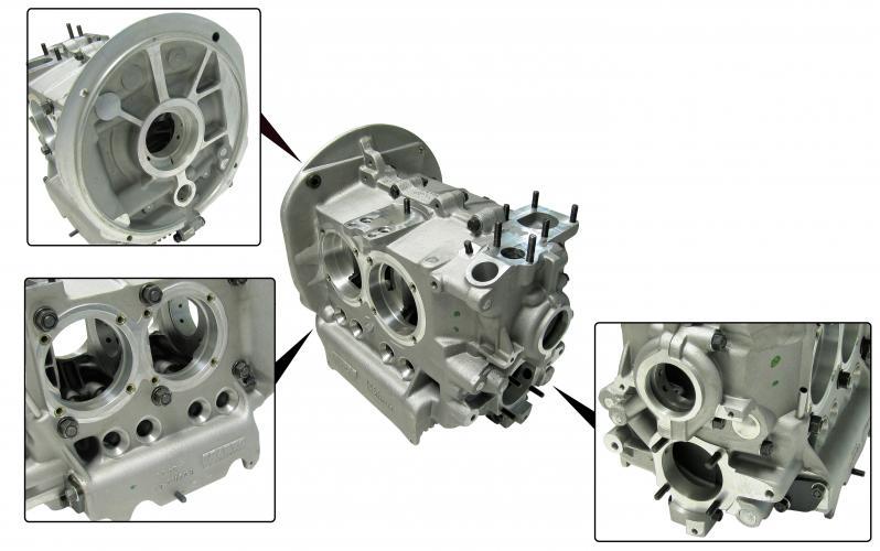 Blok motoru Alu/96mm - Typ 1/3 motory (90-92/69mm)