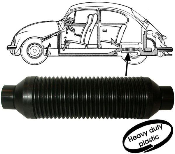 Trubka topení/plast - Typ 1 motor (1967 » 68)
