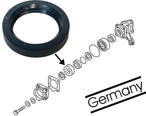 Gufero poloosy OE/zadní - Typ 1/2/3/14/181 (» 2003)