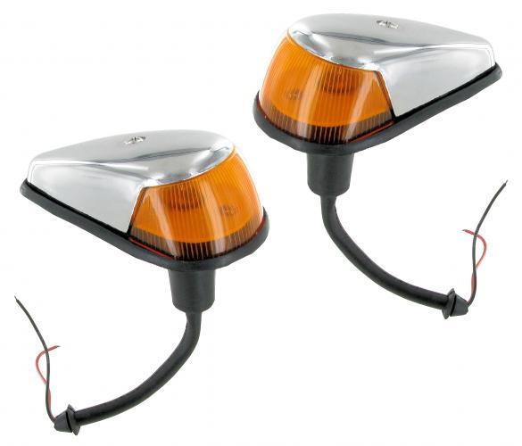 Světla směrová přední oranž/chrom L/P - Typ 1/181 (1963 » 74)
