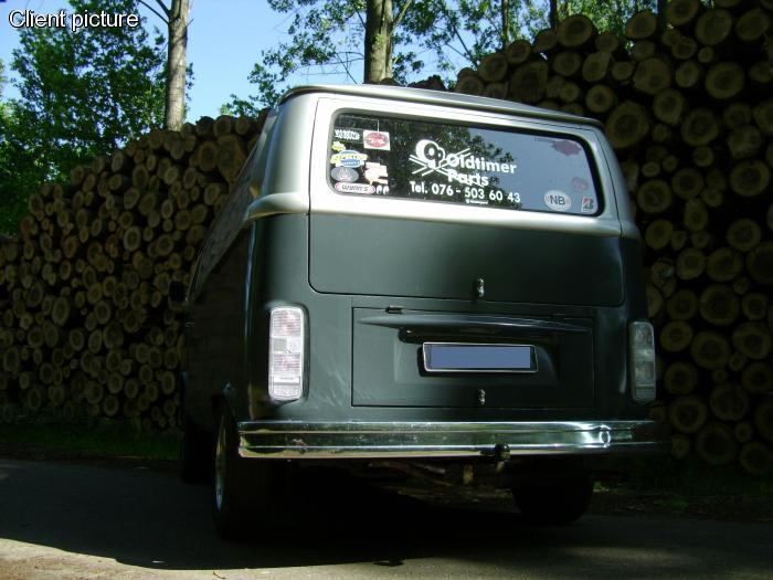 Nárazník zadní/chrom - Typ 2 (1972 » 79)