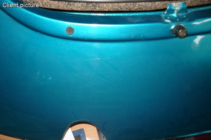 Dorazy zadní kapoty/boční - Typ 1/2/3/14/181 (» 2003)