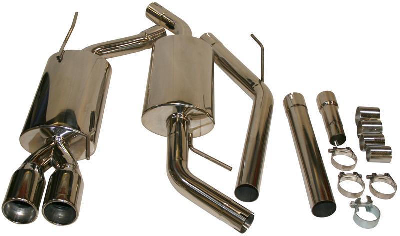 Výfuk sport S/S kit - Typ 4 (1990 » 03)