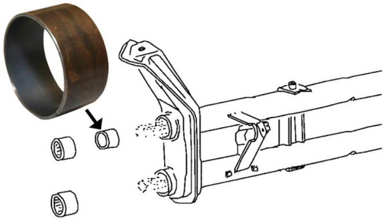 Pouzdro ramene/vnitřní/horní/spodní - Typ 1/14/181 (1965 » 03)