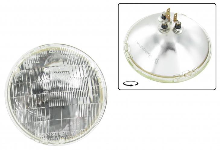 Světlomet 12V 60/50W/178mm - Typ US (univerzál)