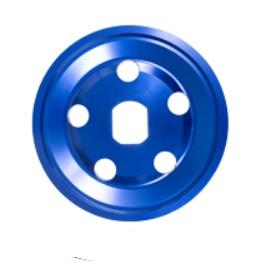 Řemenice Alu modrá 1/2 alt/gen - Typ 1 motor (1960 »)